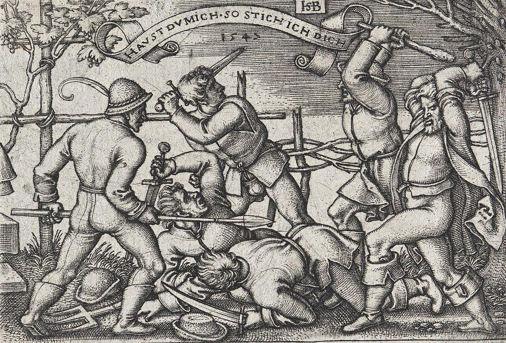 In den Kommentaren der Scienceblogs ging es von Anfang an hoch her. (Bild: Hans Sebald Beham, ca 1546