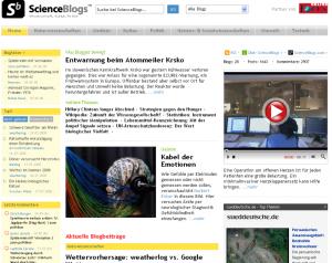 Screenshot der Seite im Juni 2008 - wir hatten auf ein eigenes Design der Website für Deutschland gesetzt.