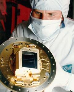 CCD-Sensor der ACS Kamera des Hubble-Weltraumteleskops; © CC BY 4.0, NASA/ESA and the ACS Science Team