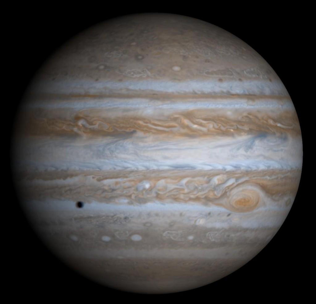 So sieht Jupiter von außen aus. Aber was ist weiter innen los? (Bild: NASA/JPL/Uni Arizona)