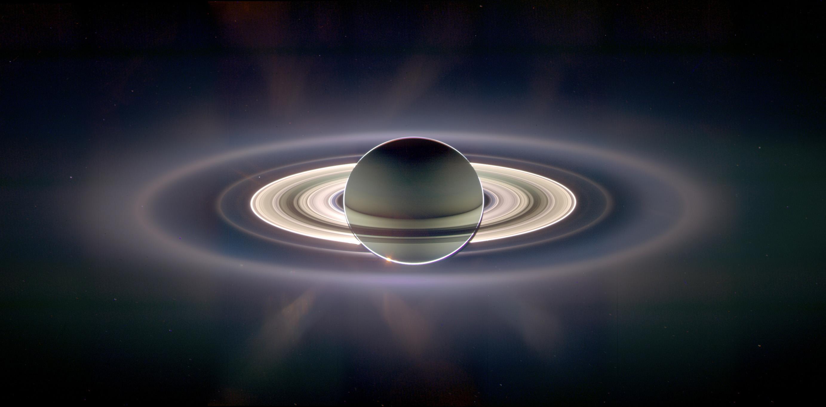 Saturn hat wirklich coole Ringe. Aber wie sieht es bei Exoplaneten aus (Bild: NASA/JPL/SSI)
