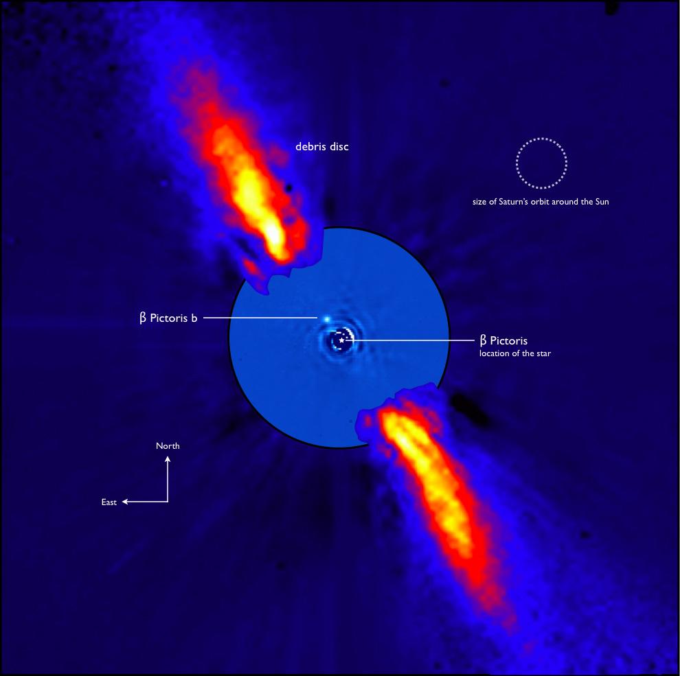 Bild: ESO/A.-M. Lagrange et al.