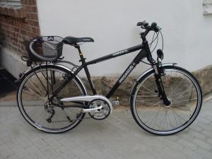 Mein treues Rad begleitet mich schon seit 2009 und auch jetzt in meinen Urlaub