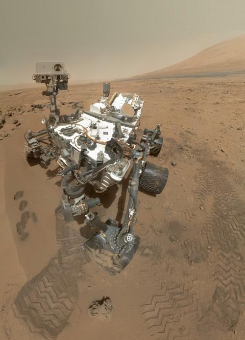 Hoffentlich schön sauber: Curiosity Bild:  NASA/JPL-Caltech/Malin Space Science Systems