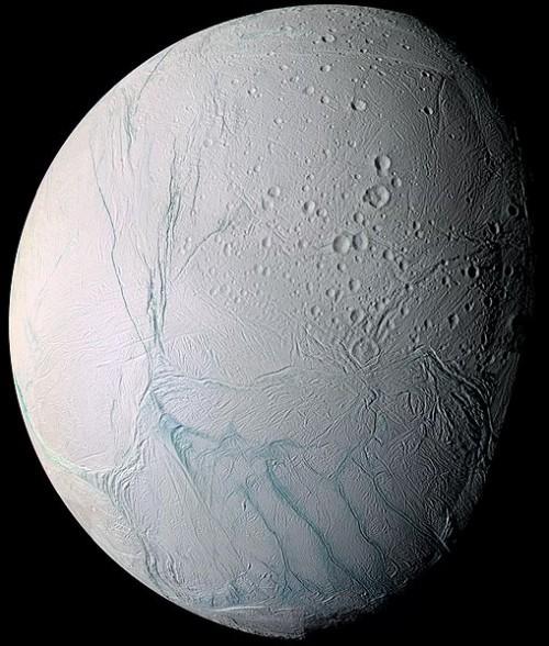 Enceladus Bild: NASA/JPL