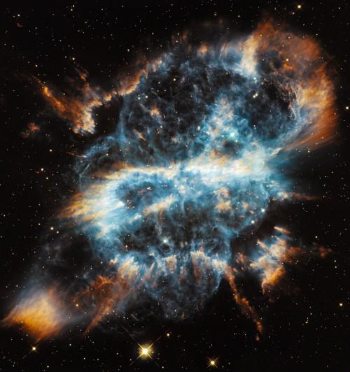 Der planetarische Nebel NGC 5189 - soll angeblich alles durch Elektrizität entstanden sein (Bild: NASA, ESA and the Hubble Heritage Team (STScI/AURA))