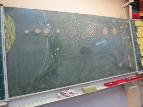 Astronomie in der Schule funktioniert immer super!