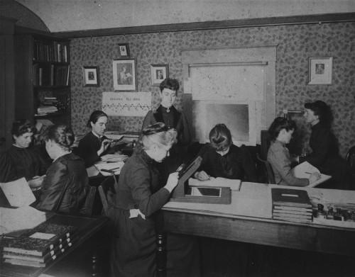 Die Harvard Computer (Bild: Harvard College Observatory, ca. 1890)