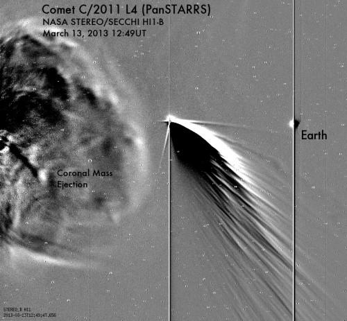 Bild: NRL / SECCHI / STEREO / NASA