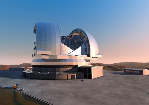 Teleskop!! Bild: ESO