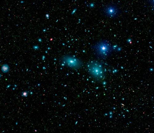 Der Coma-Haufen (Bild: NASA)