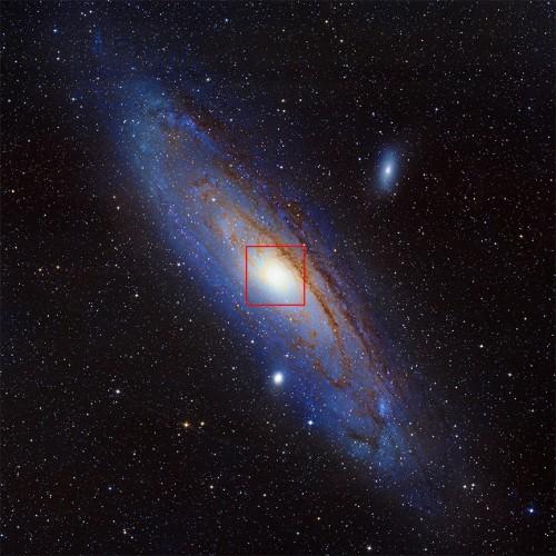 Bild: NOAO/AURA/NSF/REU Prog./B.Schoening, V.Harvey; Descubre Fndn./CAHA/OAUV/DSA/V.Peris