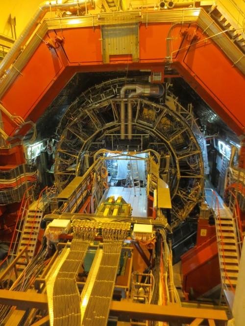 Viel Maschine und doch nix Neues am CERN