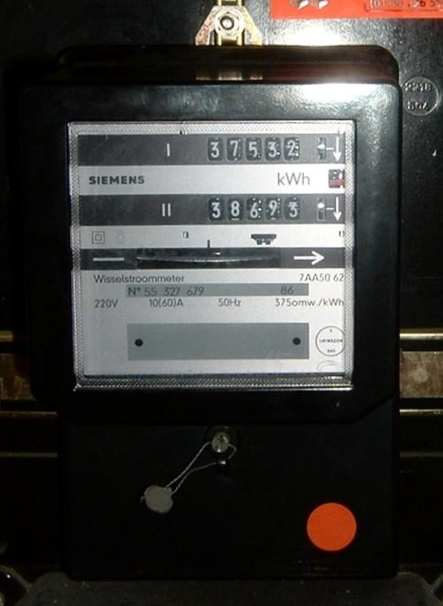 Solche Stromzähler gehören bald zur Vergangenheit (Bild: Quistnix at nl.wikipedia, CC-BY 2.5)