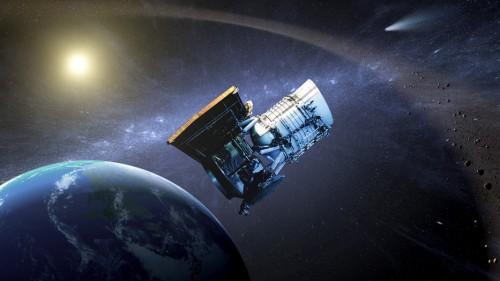 WISE bekommt einen neuen Job (Bild: NASA/JPL-Caltech)