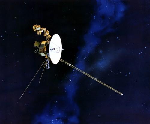Wo steckt Voyager? (Bild: NASA)