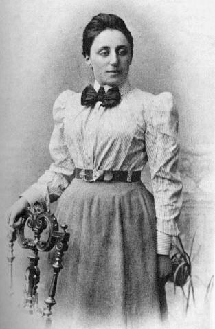 Emmy Noether musste ohne Gehalt an der Uni arbeiten weil Mathematik nichts für Frauen ist...