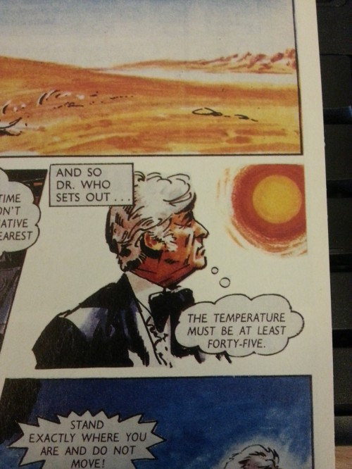 """The Gemini Plan"", Doctor Who Classic Comics #1, Marvel Comics UK, 1992"