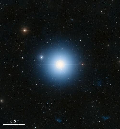 Bild: NASA, ESA, and the Digitized Sky Survey 2. Acknowledgment: Davide De Martin (ESA/Hubble)