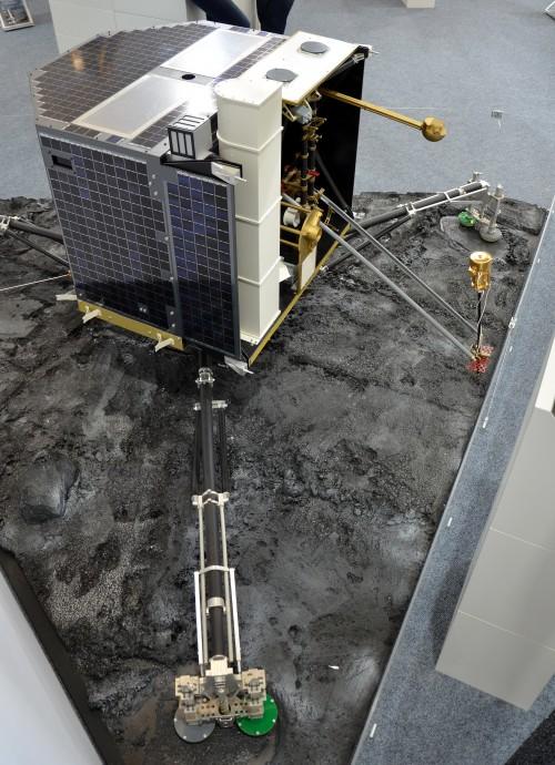 Modell der Landeeinheit Philae (Bild: Pline, CC-BY-SA 3.0)