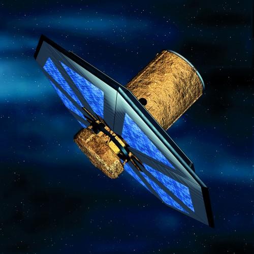 So hätten die Darwin-Teleskope ausgesehen (Bild: ESA/Medialab)