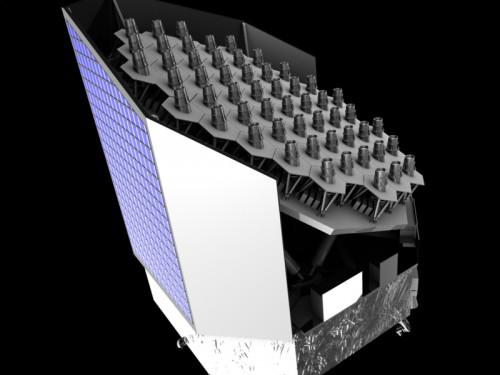 So könnte PLATO aussehen (Bild: ESA)