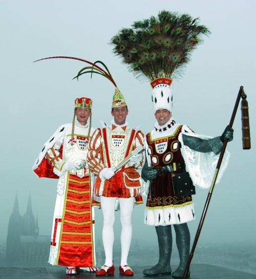 Wenn ich nach Köln komme ist der Karneval zum Glück schon vorbei. Ich hoffe aber es wird trotzdem lustig! (Bild: Public Domain)