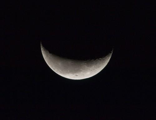 Der Mond ist immer super! (Bild: NASA, CC-BY-NC 2.0)