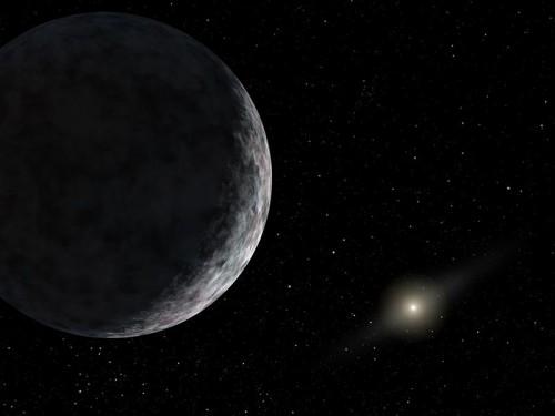 Eris (Künstlerische Darstellung: JPL/NASA)