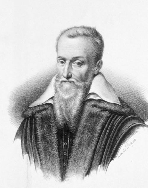 Joseph Justus Scaliger: Barträger und Kalenderreformer (Bild: Public Domain)