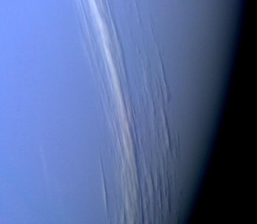 Neptun: Hat sich vorbei geschummelt!(Bild: NASA/JPL)