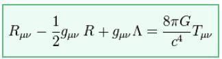 Die Einsteinschen Feldgleichungen sind auch schön, wenn man sie nicht versteht.