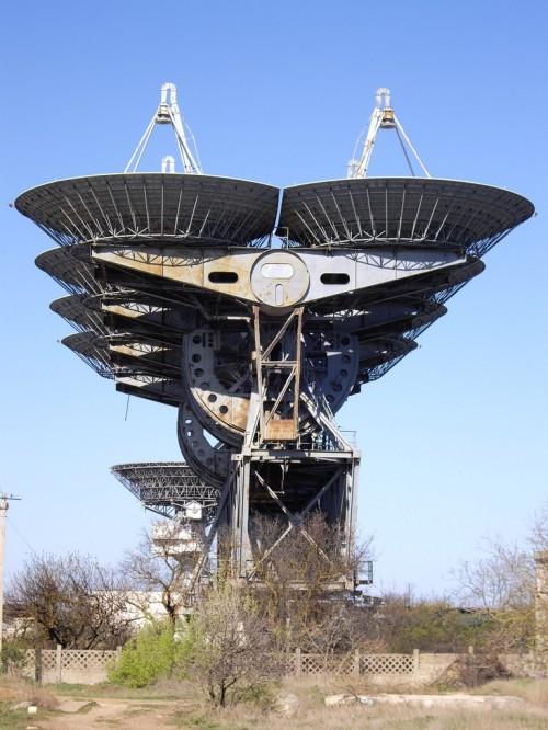 Das nenne ich mal ein Radioteleskop! (Bild: Rumlin, CC-BY-SA 3.0)