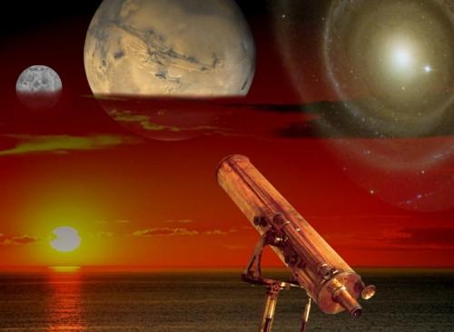 Die kosmische Vision wird in echt hoffentlich nicht so kitschig wie dieses PR-Bild der ESA (Bild)