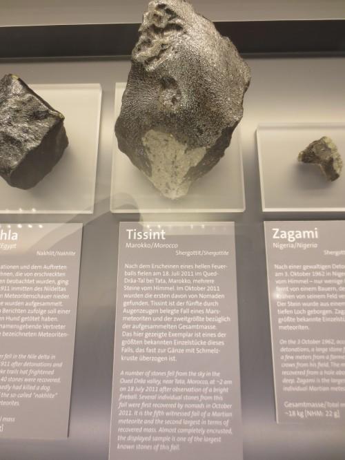Meteoriten sind super (so wie die hier aus dem Naturhistorischen Museum in Wien)