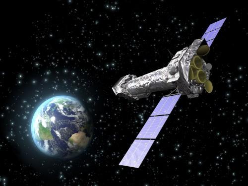 XMM-Newton hat bald ausgedient (Bild: ESA-C. Carreau)
