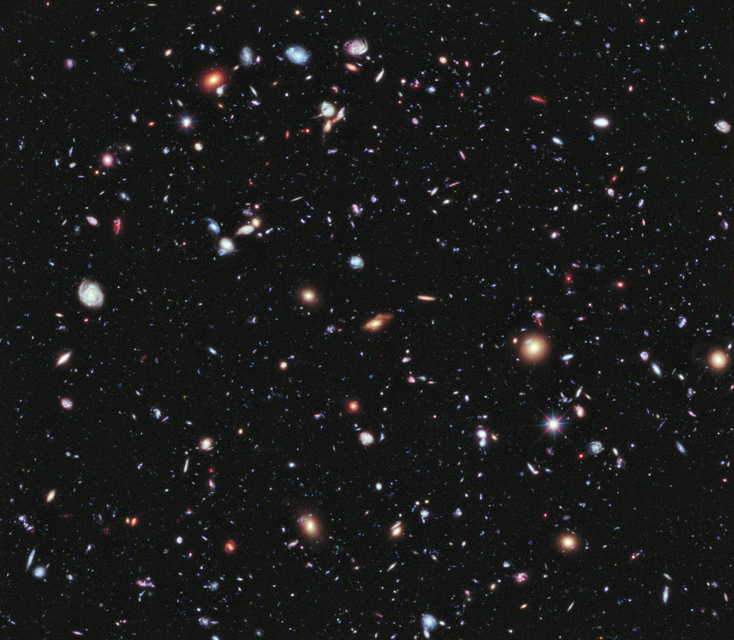 Constellation_Fornax_EXtreme_Deep_Field Verwunderlich Das Weltall ist Unendlich Dekorationen