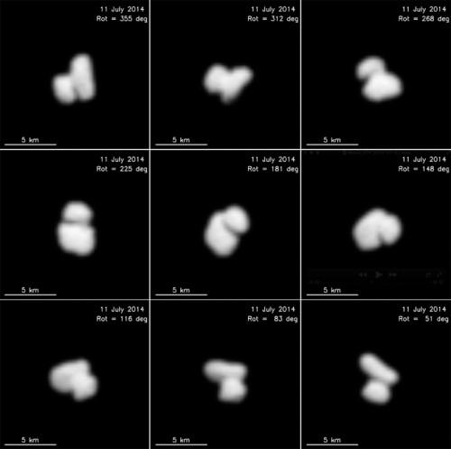 Hätte eigentlich noch nicht veröffentlicht werden sollen... (Bild: ESA / Rosetta / MPS for OSIRIS Team MPS / UPD / LAM / IAA / SSO / INTA / UPM / DASP / IDA)