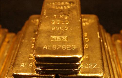 Hat jeder Astronom zu Hause: Einen Haufen Goldbarren! (Public Domain)