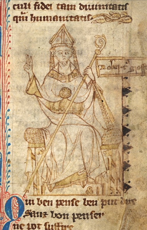 Robert Grosseteste (Bild: Public Domain)