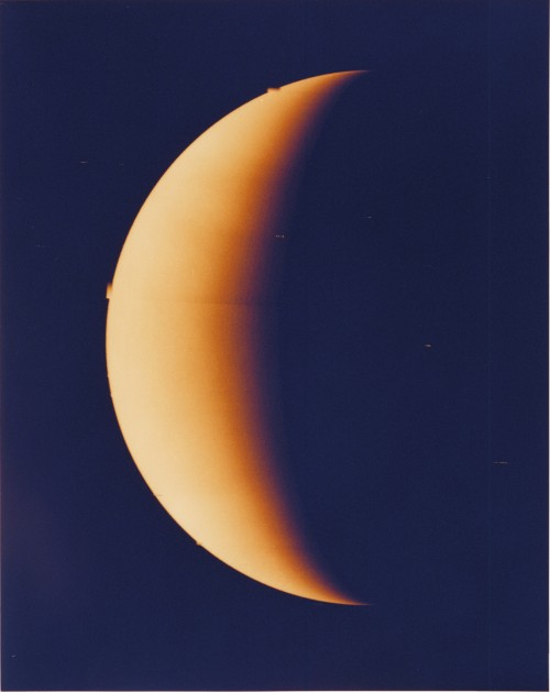 Venus, unser nächster Nachbar?  (Bild: NASA, Public Domain)