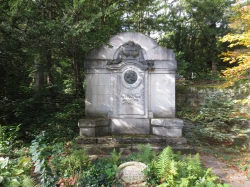 Ernst Abbes Grab am Jenaer Nordfriedhof