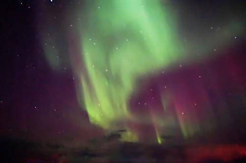 Polarlichter! (Bild: Alderamin)