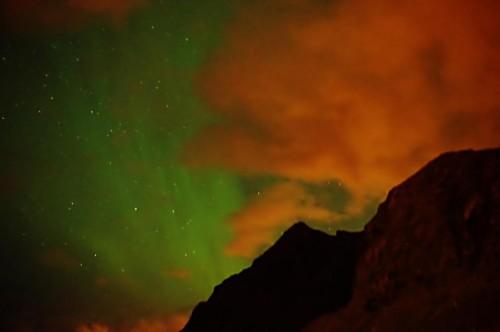 Polarlicht über Stamsund