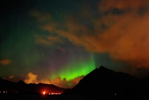 Corona Borealis mit Aurora Borealis :-)