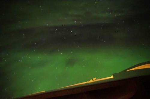 Dieses zog sich bis durch den Zenit hindurch. Wer erkennt Kassiopeia?