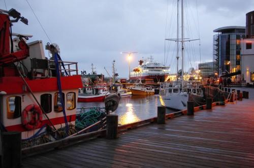 Hafen von Svolvær.