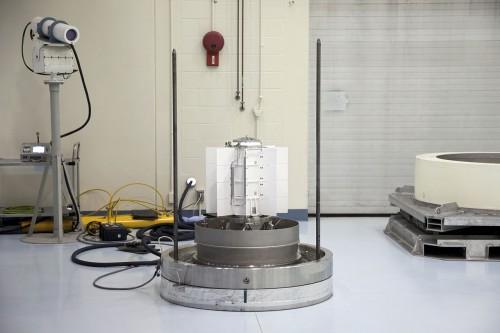 Radionuklidbatterie für den Marsrover Curiosity (Bild: NASA)