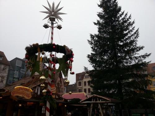 Der Weihnachtsmarkt in Jena hat heute eröffnet - aber der in Berlin ist sicher auch schön!