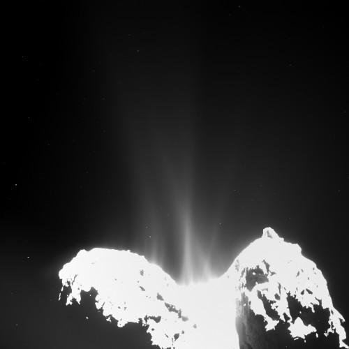 Bild: A/Rosetta/MPS for OSIRIS Team MPS/UPD/LAM/IAA/SSO/ INTA/UPM/DASP/IDA)